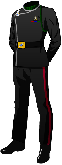 Class A Dress Uniform: Monster Blacks
