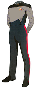 Clss B Uniform: Duty Uniform, TNG TV Series.