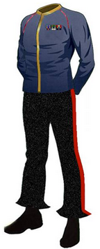 Class A Dress Uniform: TOS (Male)