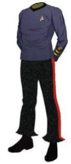 Class B Dress Uniform: TOS (Male)