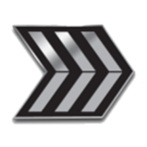 SFMC Enlisted Triple Chevron Rank Pin