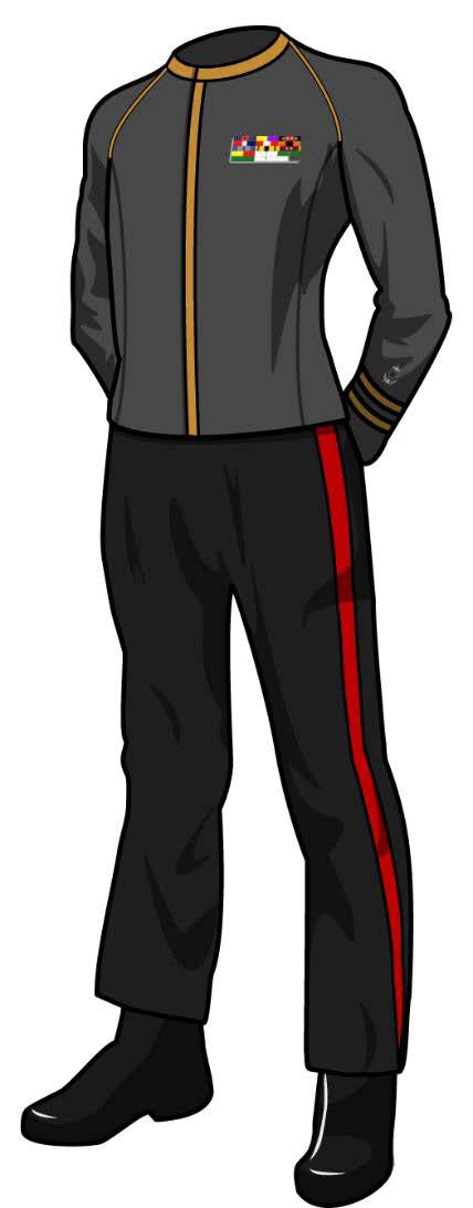 Class A Dress Uniform: TOS (Male)