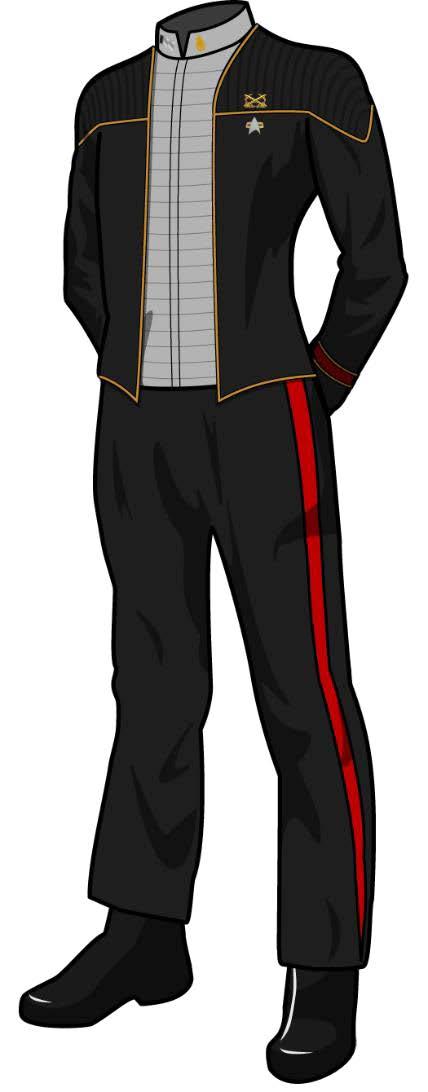 Class A Dress Uniform: Insurrection Black