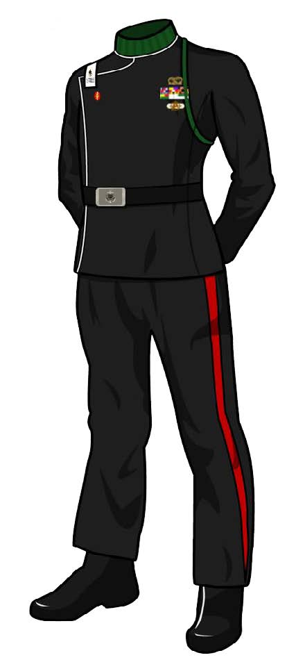 Class B Dress Uniform: TOS (Female)